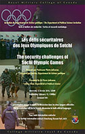 Download poster(pdf) The security challenges of Sochi Olympic Games