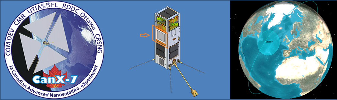 COM DEV CMR UTIAS/SFL RDDC-Ottawa CRSNG - la Canadian Advanced Nanosatellite eXperiment
