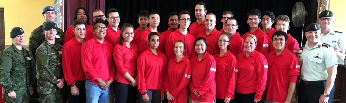 Membres du Programme d'initiation au leadership à l'intention des Autochthones