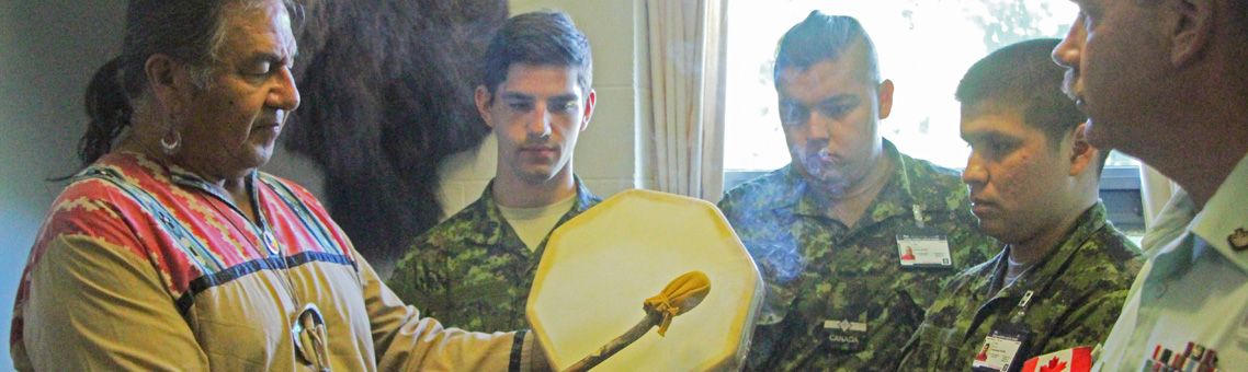 Blessing of the Culture Room for ALOY Cadets