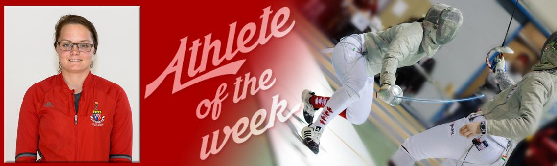 Athlete of the week - Haley Saulnier