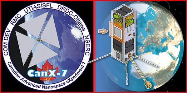 CanX-7 nano-satellite