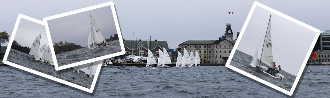 Sailing in Navy Bay