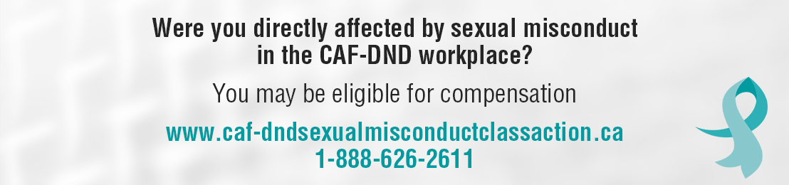 CAF-DND Sexual Misconduct Class Action Settlement