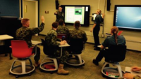 Salle de classe interactive
