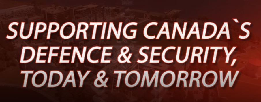 Supporting Canada's defence & security, today and tomorrow