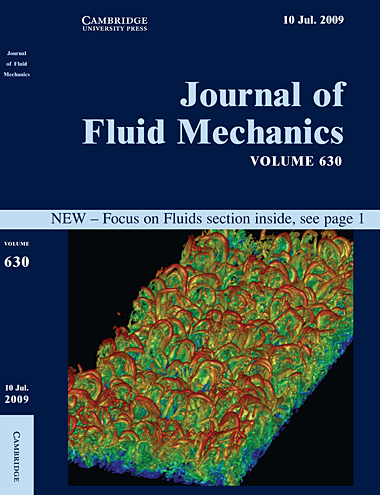 Journal of Fluid Mechanics, volume 630