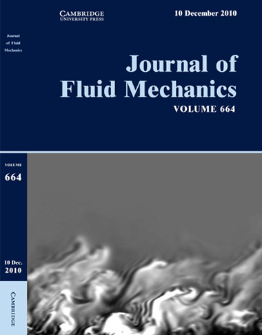 Cover of Journal of Fluid Mechanics, volume 664