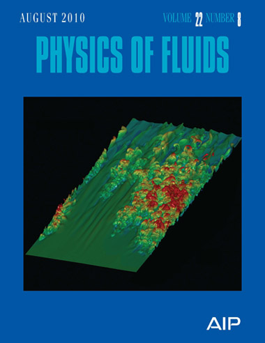 Physics of Fluids, Volume 22