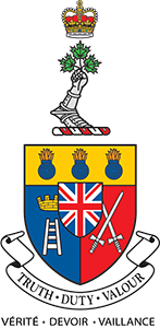 The RMC Crest and Motto: Truth - Duty - Valour