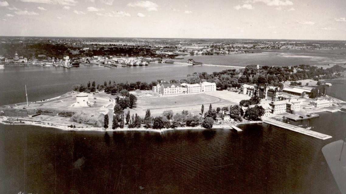Aerial view of RMC